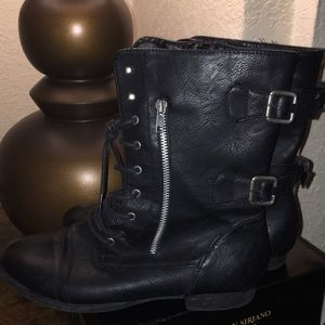 Rugged Combat Boots